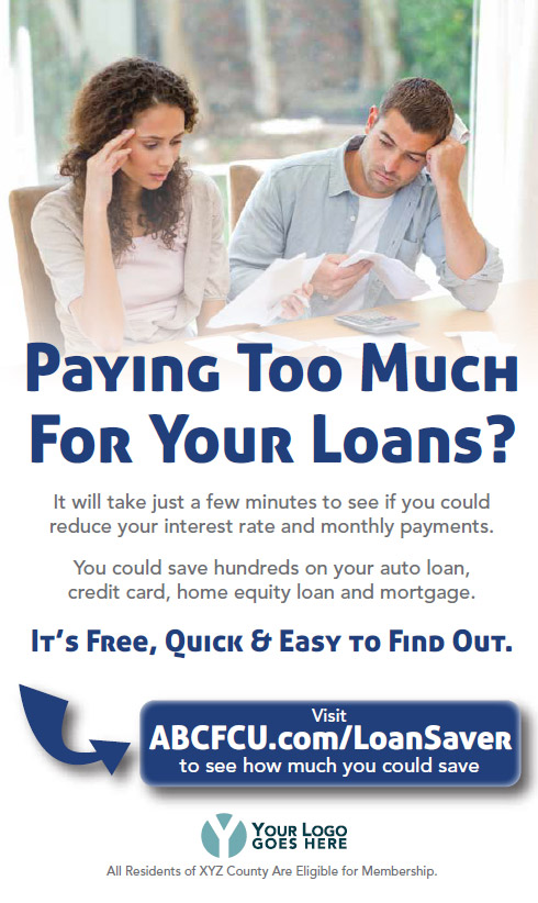 Loan Saver Marketing Design Sample