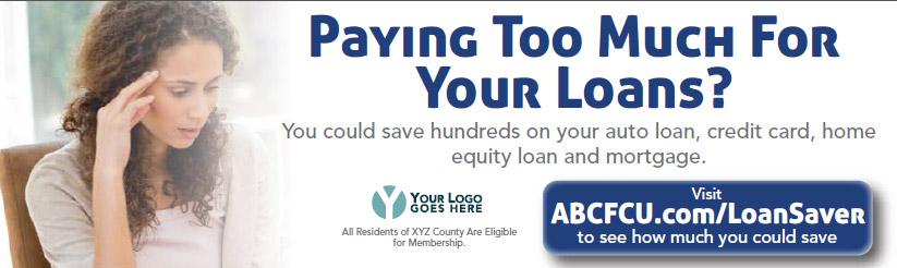 Loan Saver Marketing Design Statement Insert Sample